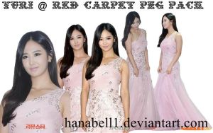 Yuri @ Red Carpet PNG Pack by HanaBell1