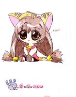 character from di gi charat by Fred-Weasley