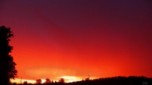 Fire in the Sky by bmbphotographyalive
