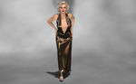 Marilyn Models My New Evening Gown 1 by AmethystPendant