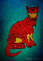Iron Cat by thefatglasses