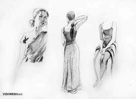 Sketches III by Vishw