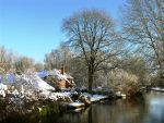 Winter on the canal by parallel-pam