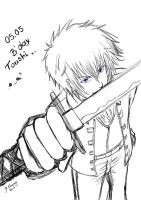 Happy B'day Toushi! by Thaay7