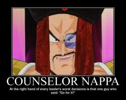 Counselor Nappa by DrForrester87