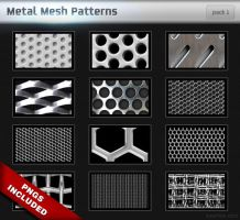 Metal Mesh Patterns by illustratorcs6