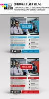 A4 Corporate Flyer Template Vol 58 by jasonmendes