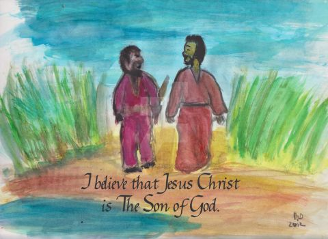 Acts 8.37 by ArtNGame215