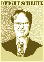 Dwight Schute by fathi-dhia