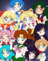 Chibi Sailor Senshi 2 by Air-Hammer