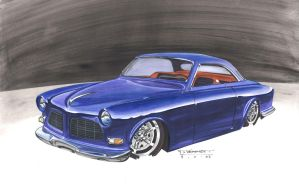 1966 Volvo Amazon Render by shakenUp