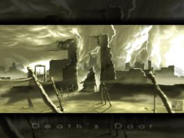 Death's Door - The Wallpaper by Grimdar