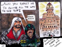Escalare Expectations by EmoHoodieDude
