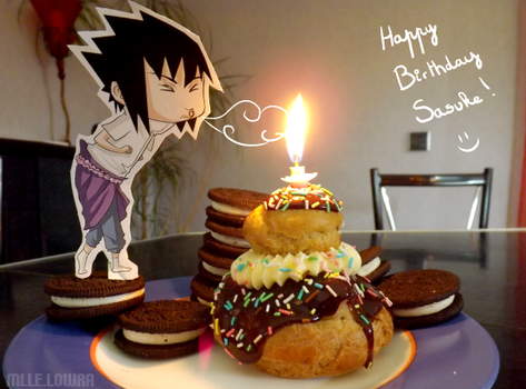 Happy Birthday Sasuke by MlleLowra