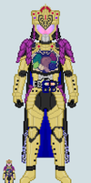 Toku sprite - Haku (Crown Arms - Corrupted Ver.) by Malunis