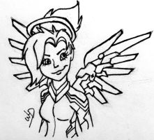 Overwatch - Mercy by Whooshie-Duck