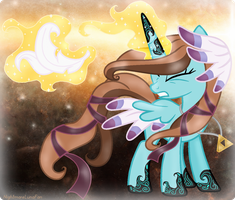 Magical Feather Re-Design by NightmareLunaFan