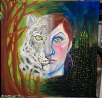 IB Final Piece 12 - Two Sides of One Heart by rymae