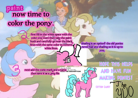 How to Use..... MLP Pony Base- Paint Part 2 by TheYUO