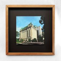 Fort Garry Hotel in Winnipeg Framed Print by Joe-Lynn-Design