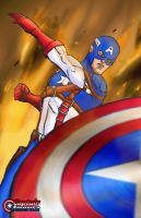 Captain America by TheFireAngel