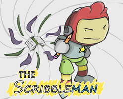 The Scribblenaut - Cover by McGenio