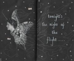 The Night Of The Flight by magdalenamoon