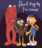 Don't hug me I'm scared by Coffgirl