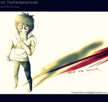 |Fanart| Jeff the Killer 2 by ThePandaHomicida