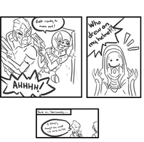 ME Comic: Tali's Smile by BambooDog