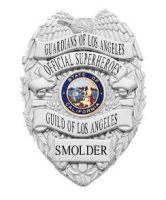 Official Superheroes Guild Badge - Los Angeles by tintallin