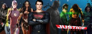 Justice League Movie Banner by PaulRom