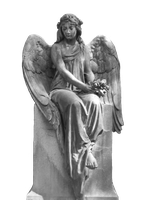 Angel Statue Stock by Wyonet