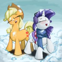 Snow Battle by ImpCJCaesar