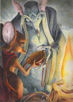 The Secret of NIMH by Luzerrante