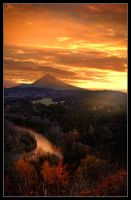 Mount Hood Sunrise by bypolar-bear