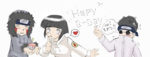 Happy Birthday Hinata - LATE by gummypocky
