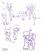Fiolee Sketch Doodles 2 (? by 27Leslie