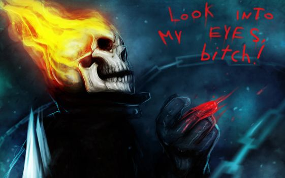 GHOST RIDER wallpaper by suspension99