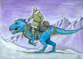 Dinotopia- Mark Crilley Inspired by jessecarlsteen