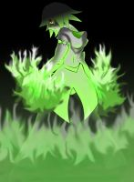 Green Flames Dimitry by Lucky-JJ