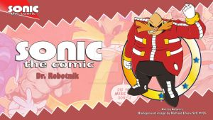 Sonic the Comic : Robotnik by adamis