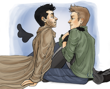 Dean and Cas by Ciaraneri