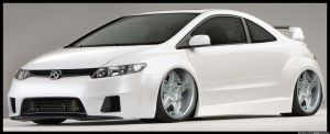 Honda Civic--Widebody by remingtonbox