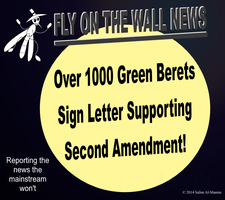 Over 1000 Green Berets Support 2nd Amendment! by IAmTheUnison