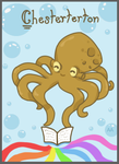 Chesterton the Literary Octopus by Lt-Frogg