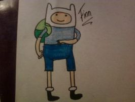 FINN the human by XxBlubehxX