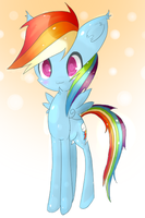 Rainbow Dash by Dreishzu