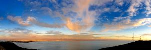 Dusk at Point Loma by mnjul