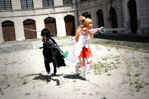 This game is all about battle - Sword Art Online by K-I-M-I